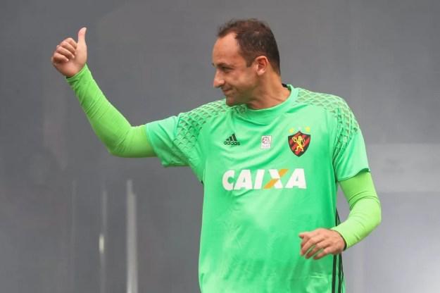 Magrão tem 708 partidas disputadas pelo Sport (Foto: Adelson Costa (Pernambuco Press))