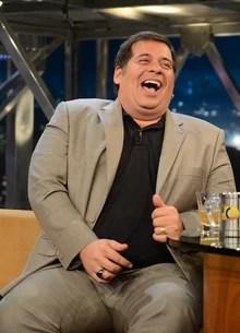 Leandro Hassum e Gogoia Sampaio (TV Globo/Programa do Jô)