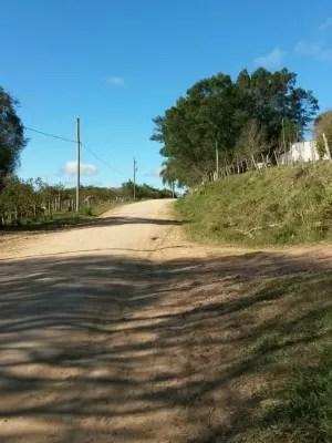 Moradores foram alertados por movimentação em estrada (Foto: Patrícia Porciúncula/RBS TV)