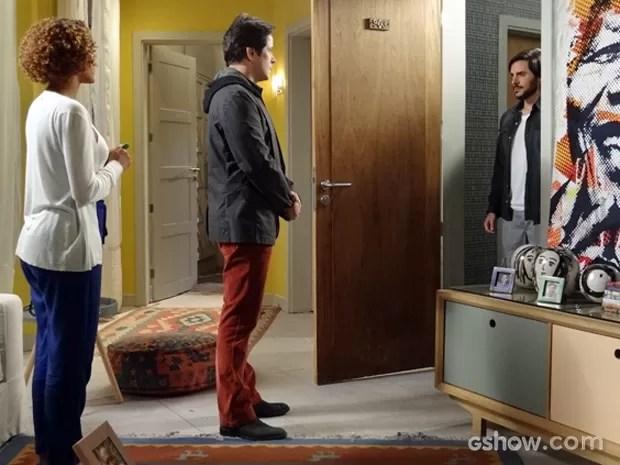 Jonas se surpreende ao ver Herval (Foto: Geração Brasil/ TV Globo)