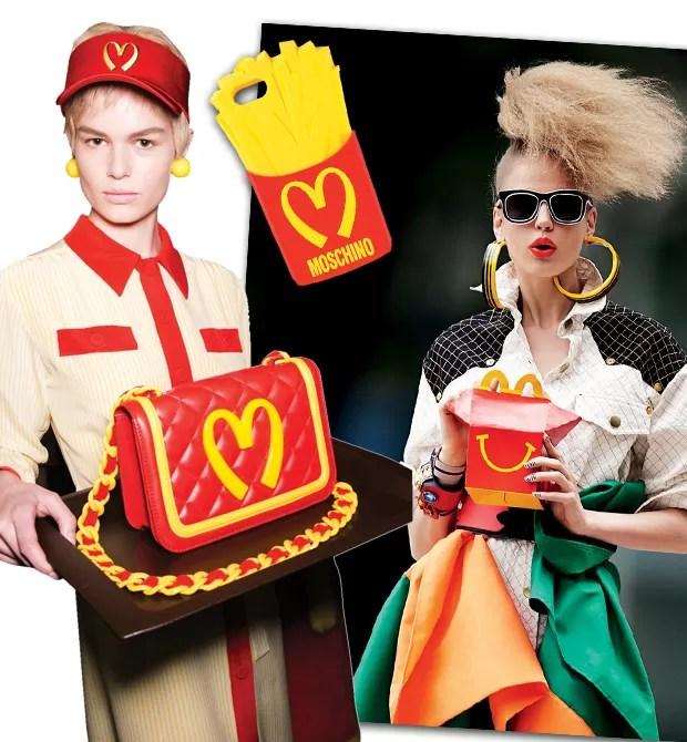 Happy meal: fast- -food dá ar popem editorial de junho desta Vogue (Foto:  )