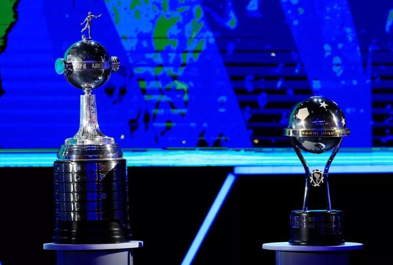 Sorteio Libertadores e Copa Sul-Americana 2020 — Foto: REUTERS/Jorge Adorno
