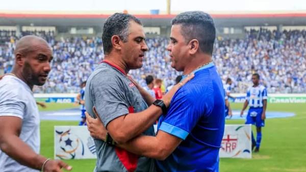 Marcelos Chamusca e Cabo se encontram no Rei Pelé