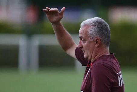 Dorival Júnior comanda reação do São Paulo (Foto: Rubens Chiri/saopaulofc.net)