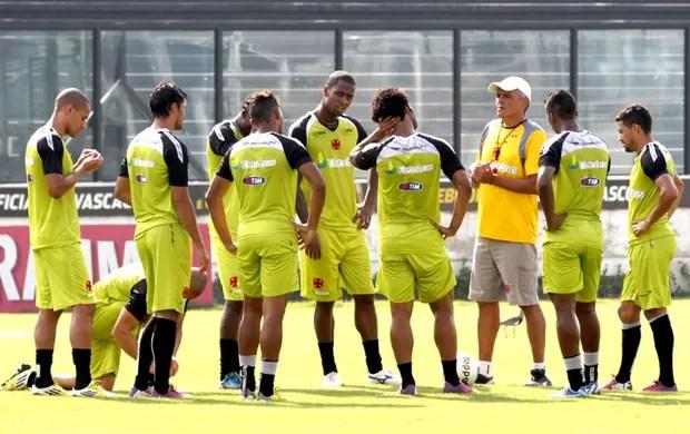 Gaúcho no treino do Vasco (Foto: Marcelo Sadio / Site do Vasco)