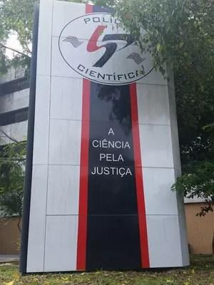 Sede do Instituto de Criminalística, na Zona Oeste de SP (Foto: Will Soares/G1)