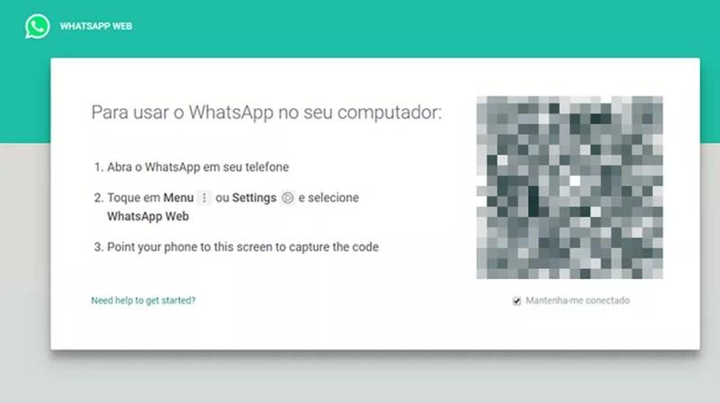 Faça login no WhatsApp Web (Foto: Reprodução/Paulo Alves)