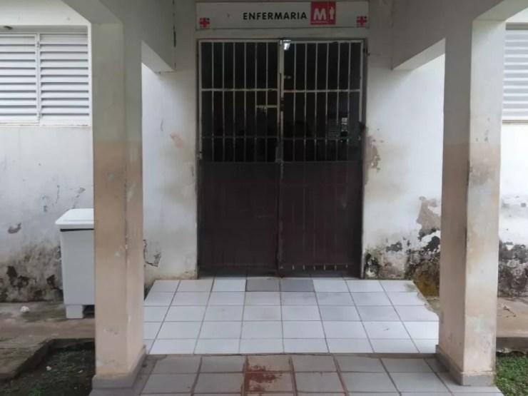 Divisão de Saúde Mental do estado diz que hospital parece uma prisão  — Foto: Tácita Muniz/G1