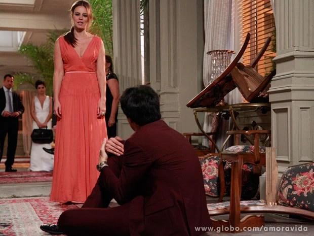 Paloma quer que Félix pague por seu crime (Foto: Ellen Soares/ TV Globo)
