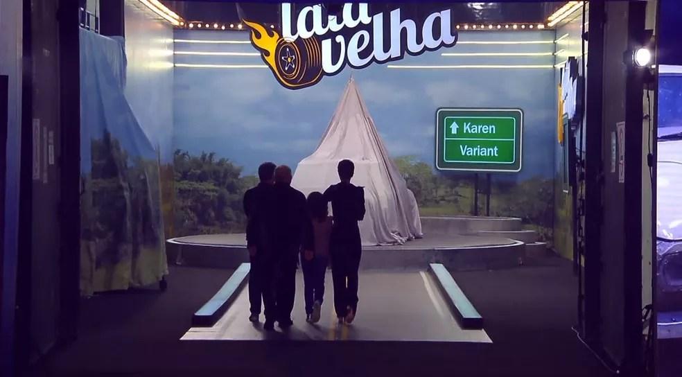 Luciano Huck promete trazer o 'Lata Velha' para o 'Domingão com Huck' — Foto: Globo
