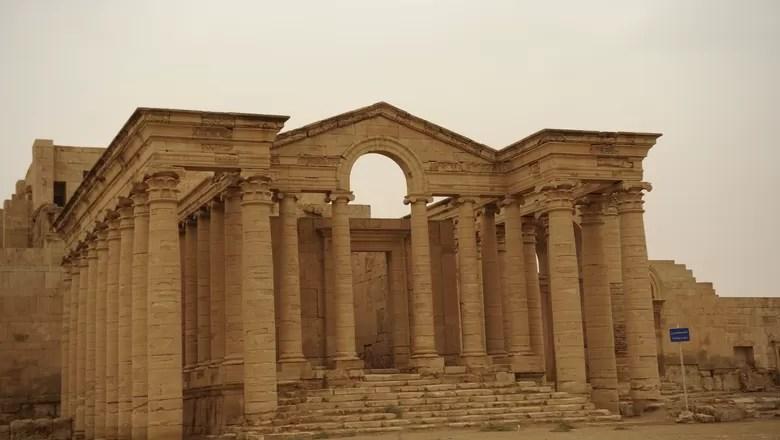 ruinas-cidade-hatra-iraque (Foto: Creative Commons/JoAnn Makinano)