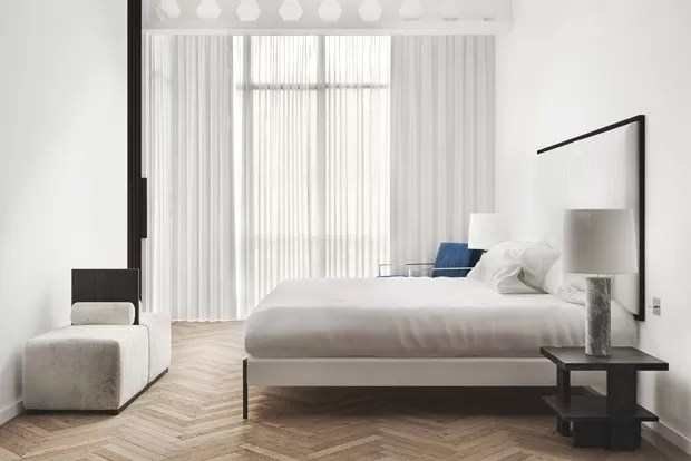 Decoração de quartos brancos (Foto: ruben ortiz / divulgação)
