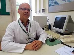 O médico e cirurgião Alfio José Tincani, da Unicamp, em Campinas   (Foto: Jéssica Kruckenfellner - Assessoria de Imprensa do HC da Unicamp)