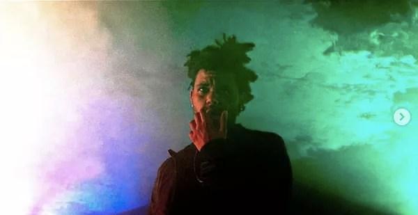 Rapper The Weeknd (Photo: Instagram)