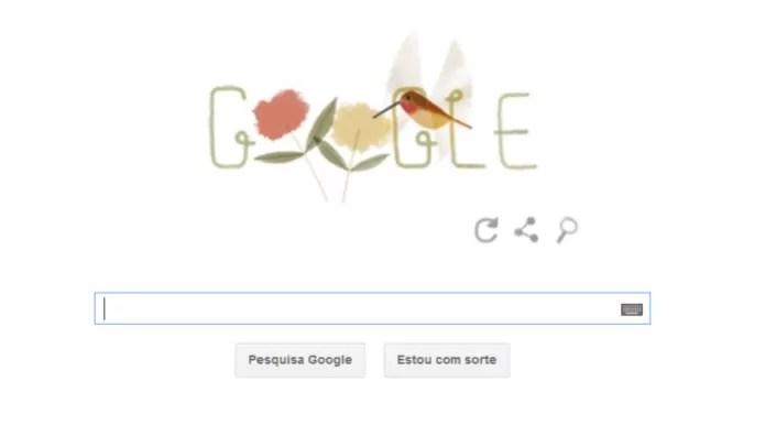 Doodle do Google celebra Dia da Terra 2014 com animais e biodiversidade (Foto: Reprodução/Google) (Foto: Doodle do Google celebra Dia da Terra 2014 com animais e biodiversidade (Foto: Reprodução/Google))