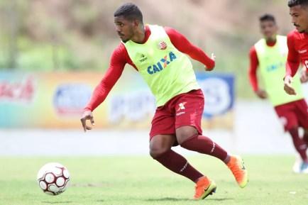 Joazi voltou ainda durante a Série C, mas não pôde ser inscrito — Foto: Marlon Costa/ Pernambuco Press