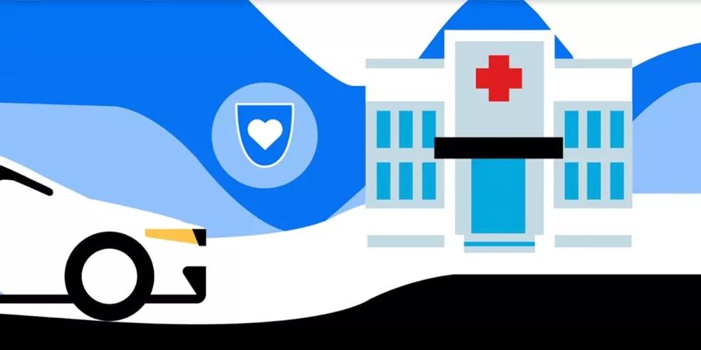 O que é Uber Medics? Nova campanha da Uber busca auxiliar profissionais da área da saúde — Foto: Divulgação/Uber