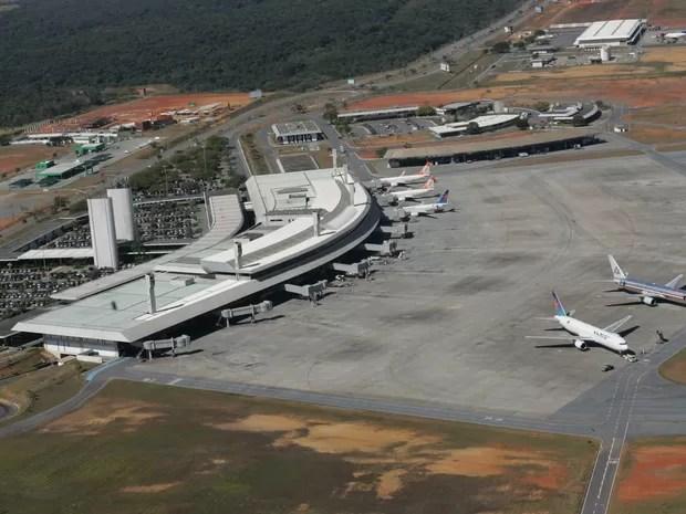 Resultado de imagem para aeroporto de Confins