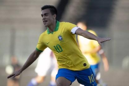 Reinier é novidade na lista e mais jovem da lista de convocados para o Pré-Olímpico — Foto: Divulgação / CBF