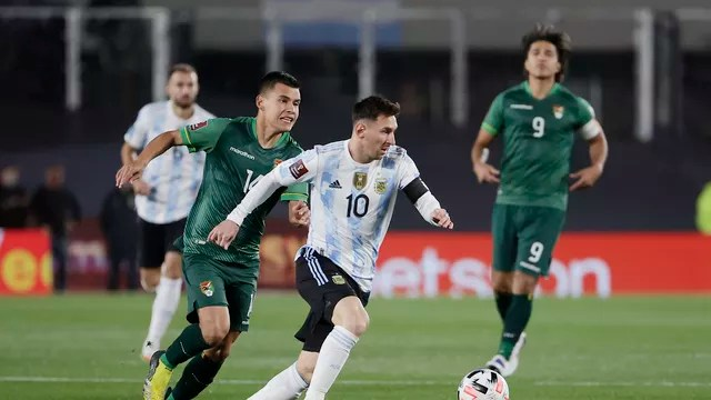 Messi Argentina x Bolívia
