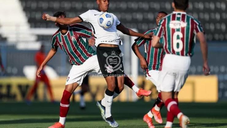 Corinthians x Fluminense Sub-20