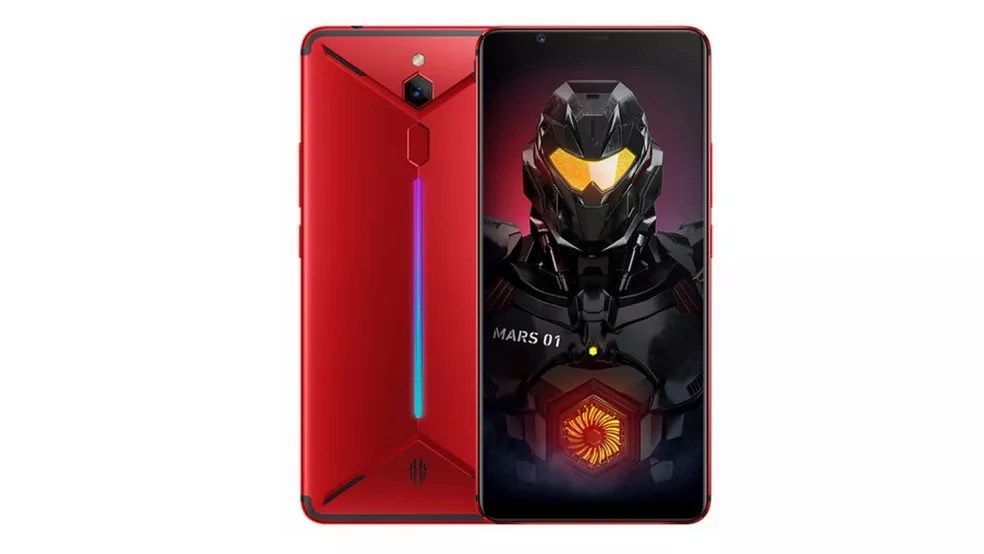 Nubia Red Magic Mars é smartphone gamer com 10 GB de RAM — Foto: Divulgação/Nubia