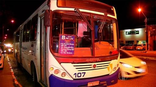 Ônibus que fazem linhas de Natal para Parnamirim também têm alteração na tarifa — Foto: Reprodução/Inter TV Cabugi