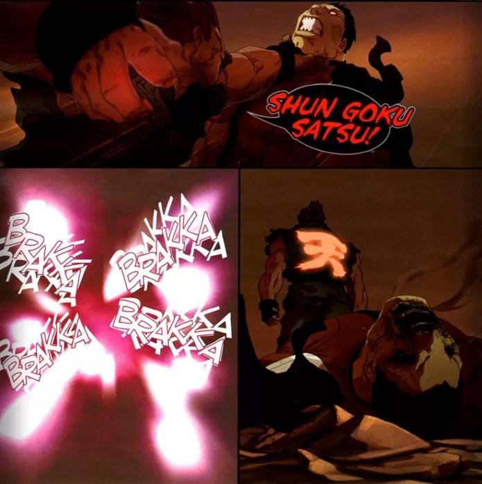 Akuma mata Bison no mangá (Foto: Reprodução / videogamewriters.com)