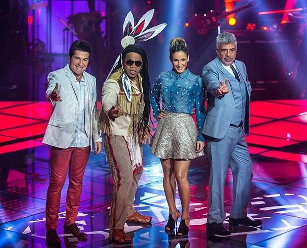 Técnicos comentam apresentações da etapa dos Shows Ao Vivo (Foto: Isabella Pinheiro/TV Globo)