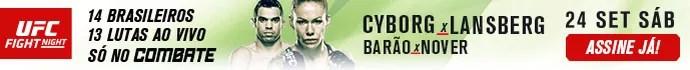 Header Banner UFC Brasília Combate (Foto: Combate)
