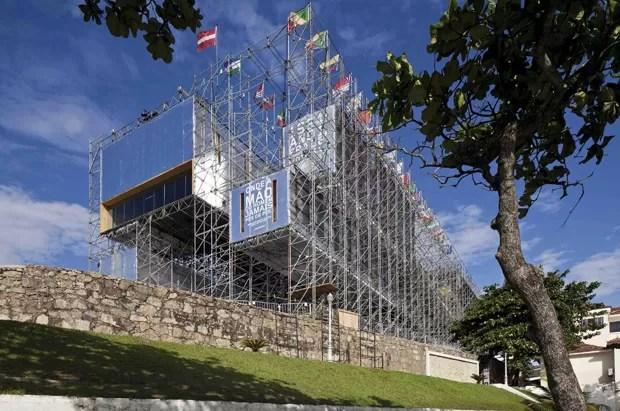 Pavilhão Humanidade, Rio de Janeiro, 2011/2012, Carla Juaçaba (Foto: Leonardo Finotti)
