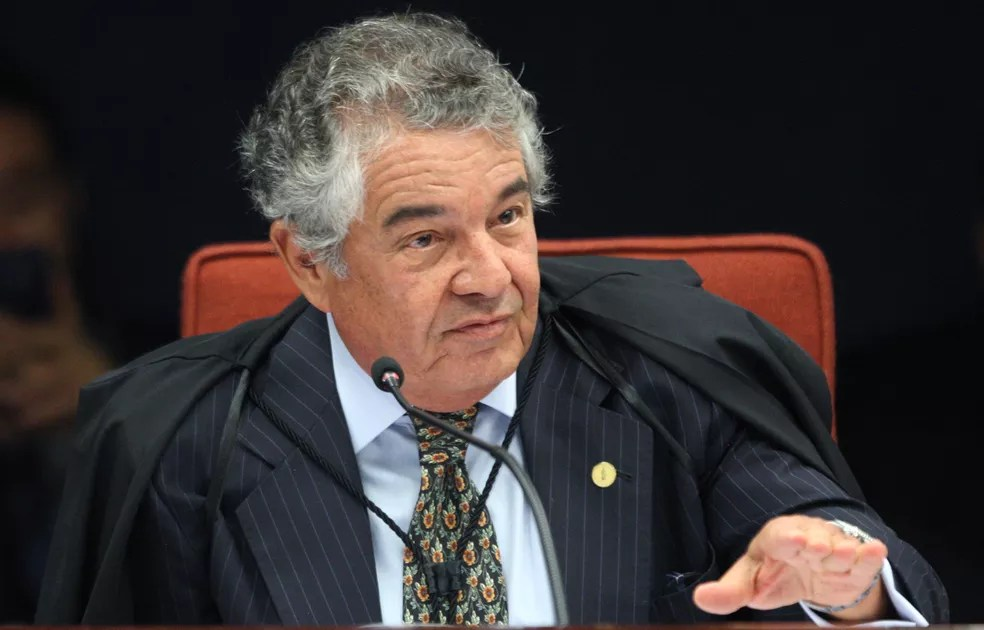 O ministro Marco Aurélio Mello, do Supremo Tribunal Federal — Foto: Nelson Jr./STF
