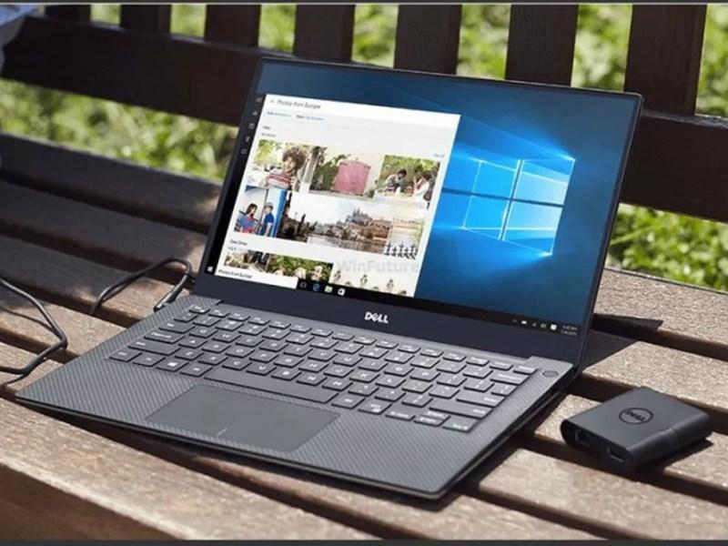 Dell XPS 13 ganhou nova versão durante a CES 2019 — Foto: Divulgação
