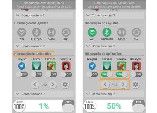 Escolha quais apps desativar (Foto: Reprodução/Barbara Mannara)