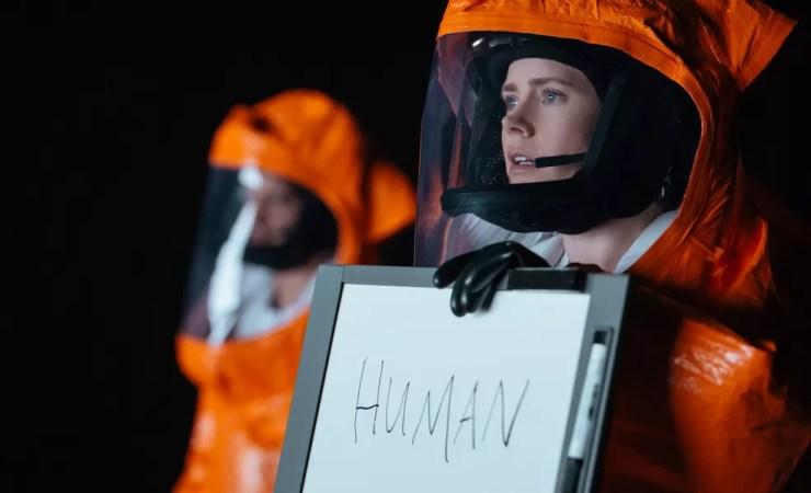 Am Adams em cena de 'A chegada' (Foto: Divulgação/Sony Pictures)
