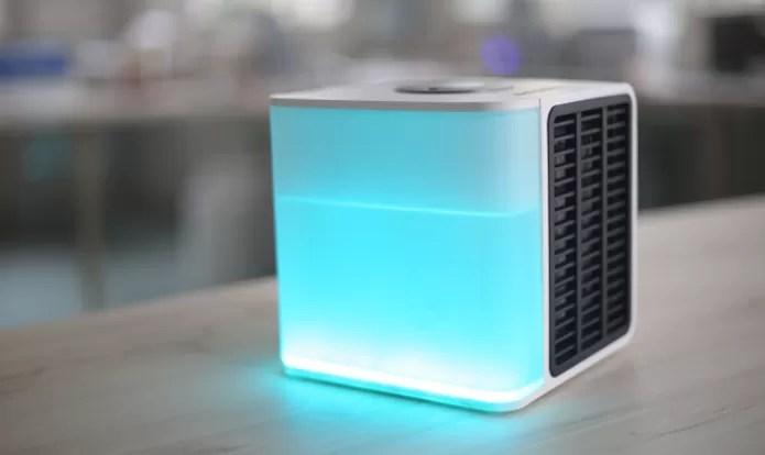 Ar-condicionado portátil pode refrigerar área ao redor com menor consumo de energia (Foto: Reprodução/Indiegogo)
