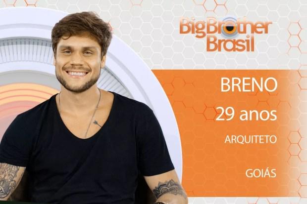 Breno é o segundo participante a ser anunciado no 'BBB18' (Foto: Divulgação)