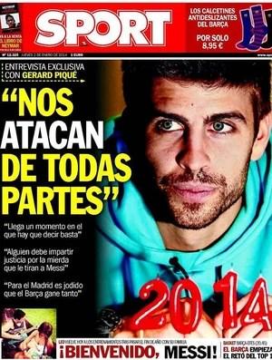 Piqué capa Sport (Foto: Reprodução)