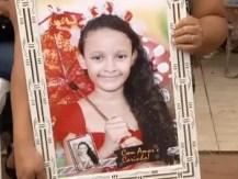 Laura Vitória está desaparecida há três dias (Foto: Reprodução/TV Anhanguera)
