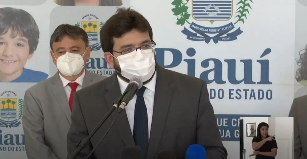 Secretário estadual de Fazenda do Piauí, Rafael Fonteles — Foto: Reprodução/YouTube Governo do Estado do Piauí