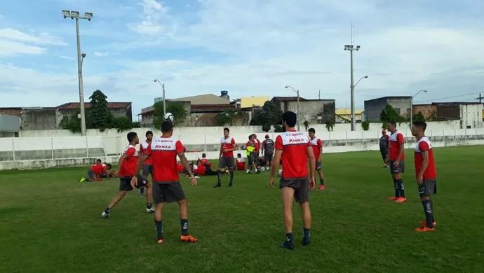 Sergipe, treino (Foto: Divulgação/CSS)