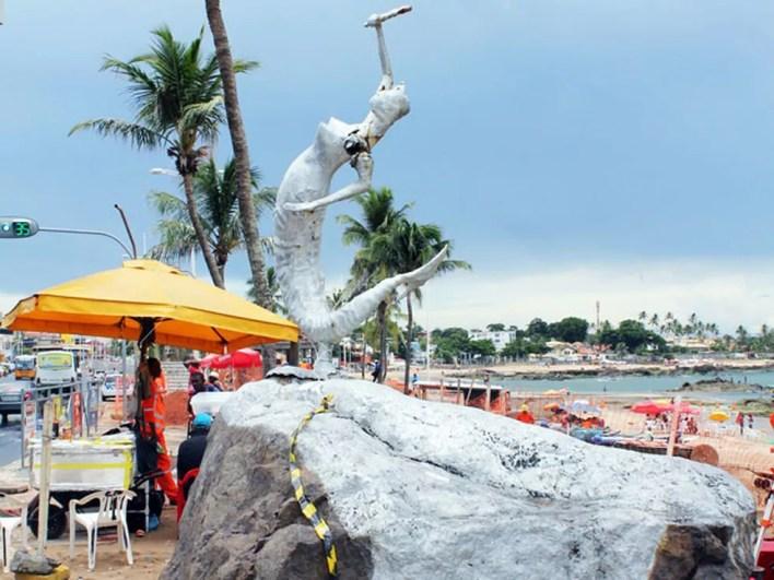 Festa ocorre na região da Sereia de Itapuã (Foto: Gabriel Lima/Agecom)
