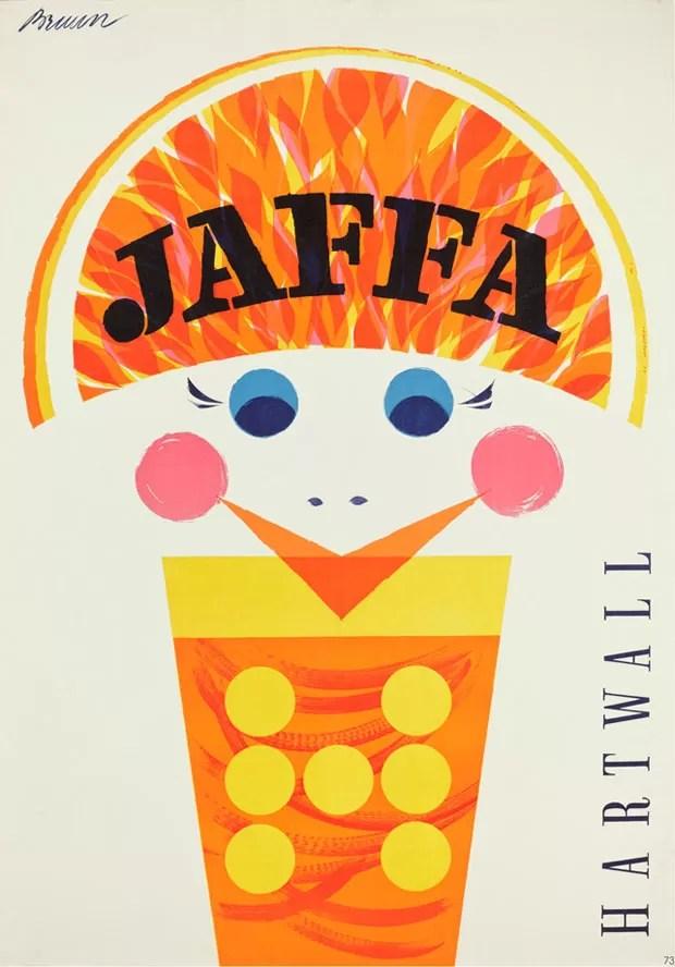 Erik Bruun, Jaffa, juliste, poster, Hartwall