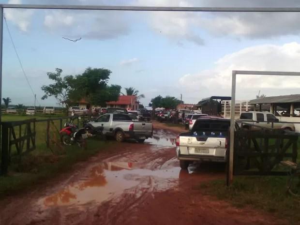 Crime aconteceu no Rancho Maia, em São José de Ribamar (Foto: João Ricardo Barbosa / G1)
