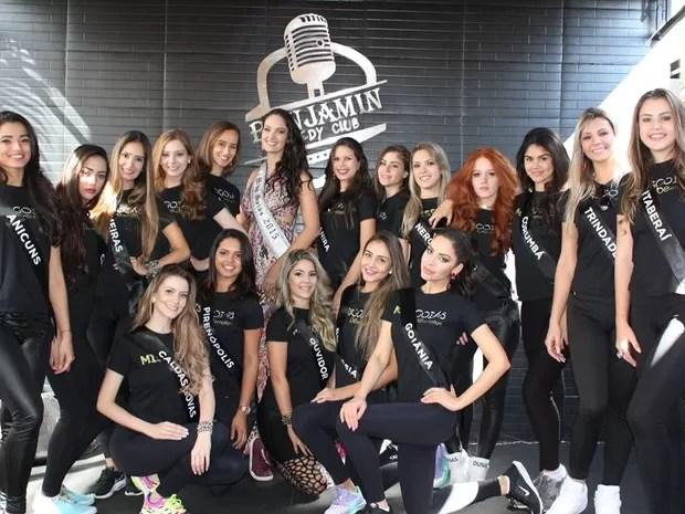 'Miss Goiás 2016' seleciona mais bela do estado nesta quarta-feira (27), em Goiânia (Foto: Divulgação/Facebook)