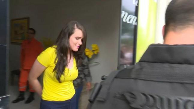 Vânia Basílio foi condenada por matar o ex em Vilhena — Foto: Rede Amazônica/Reprodução