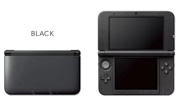 3DS XL na cor preta (Foto: Divulgação)