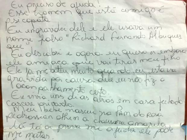 No pedido de ajuda, vítima disse que era agredida pelo suspeito (Foto: Gabriela Pavão/ G1 MS)