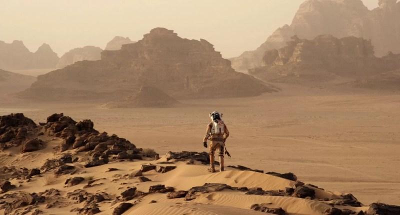 Locomover-se por Marte seria muito diferente de como fazemos na Terra: seria necessário dar