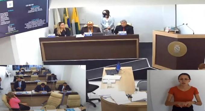 Vereadores aprovam PL que prevê aporte de R$ 2,4 milhões a empresas de ônibus — Foto: Reprodução